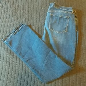 Old Navy bootcut jeans, size 18 tall